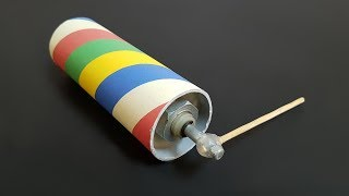 DIY: How to make Electronic Rolling Toy at home