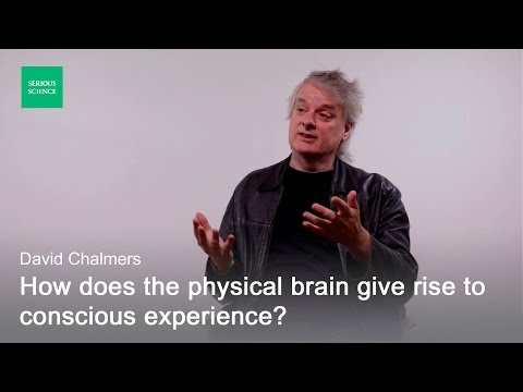 Hard Problem of Consciousness — David Chalmers