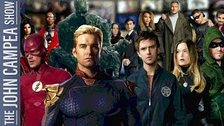 Why These Are The Top 5 Superhero Shows On TV - The John Campea Show