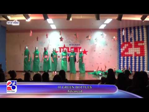 20   TALENT SHOW 2016   10 GREEN BOTTLES 25112016