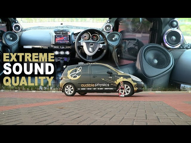 Audible Physics : Honda Jazz GD | Sound Quality | Simple Audio workshop