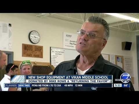 Vikan Middle School gets new wood shop