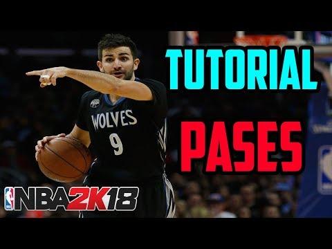 NBA 2K18 | Tutorial de Pases - Alley Ops, pase largo,  pase de icono y más | Español