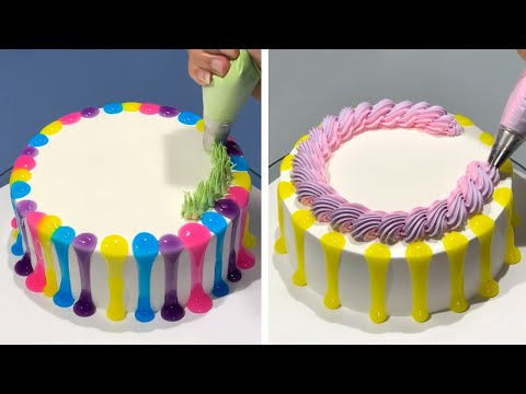 Quick & Beautiful Cake Decorating Challenge for Party | So Tasty Chocolate Cake Recipe | Cake Making