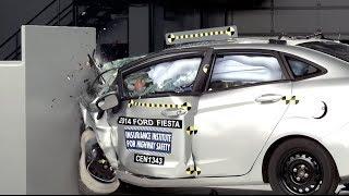 Small cars - Selected crash tests