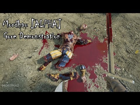 Mordhau [ALPHA] Gore Demonstration