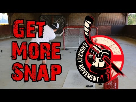 How to get 'snap' in your wristshot and Snapshot - Complete Shot 2