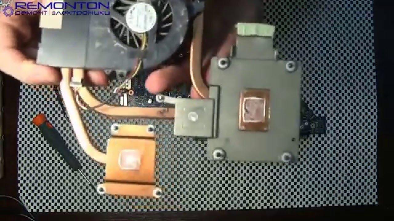 Северный мост-Стандартная неисправность ноутбука Compaq 615 - YouTube