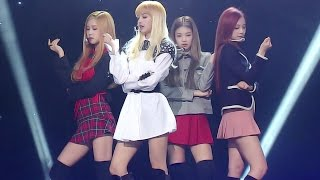 EXCITING BLACKPINK 블랙핑크 PLAYING WITH FIRE 불장난 인기가요 Inkigayo 20161127