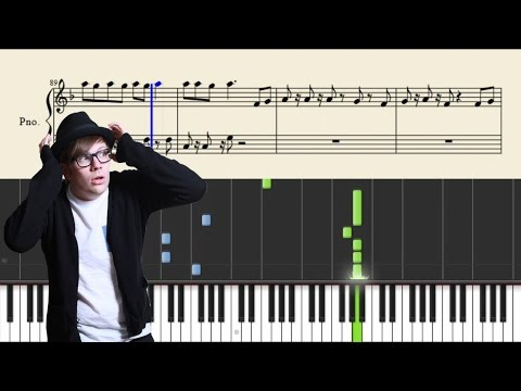 Fall Out Boy - Where Did The Party Go - Piano Tutorial