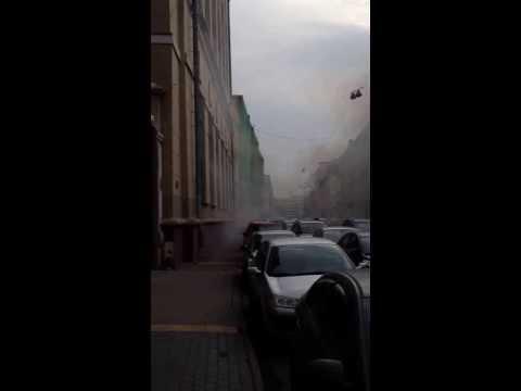 Взрыв на Садовнической 11.10.13