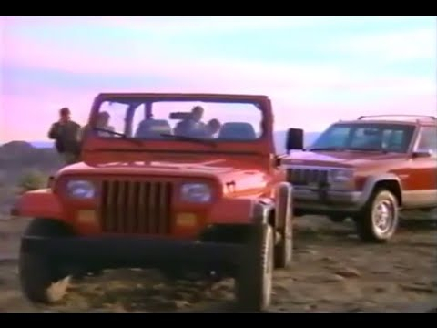 "1992 Jeep Cherokee & YJ Commercial -""Commercial Planning"""