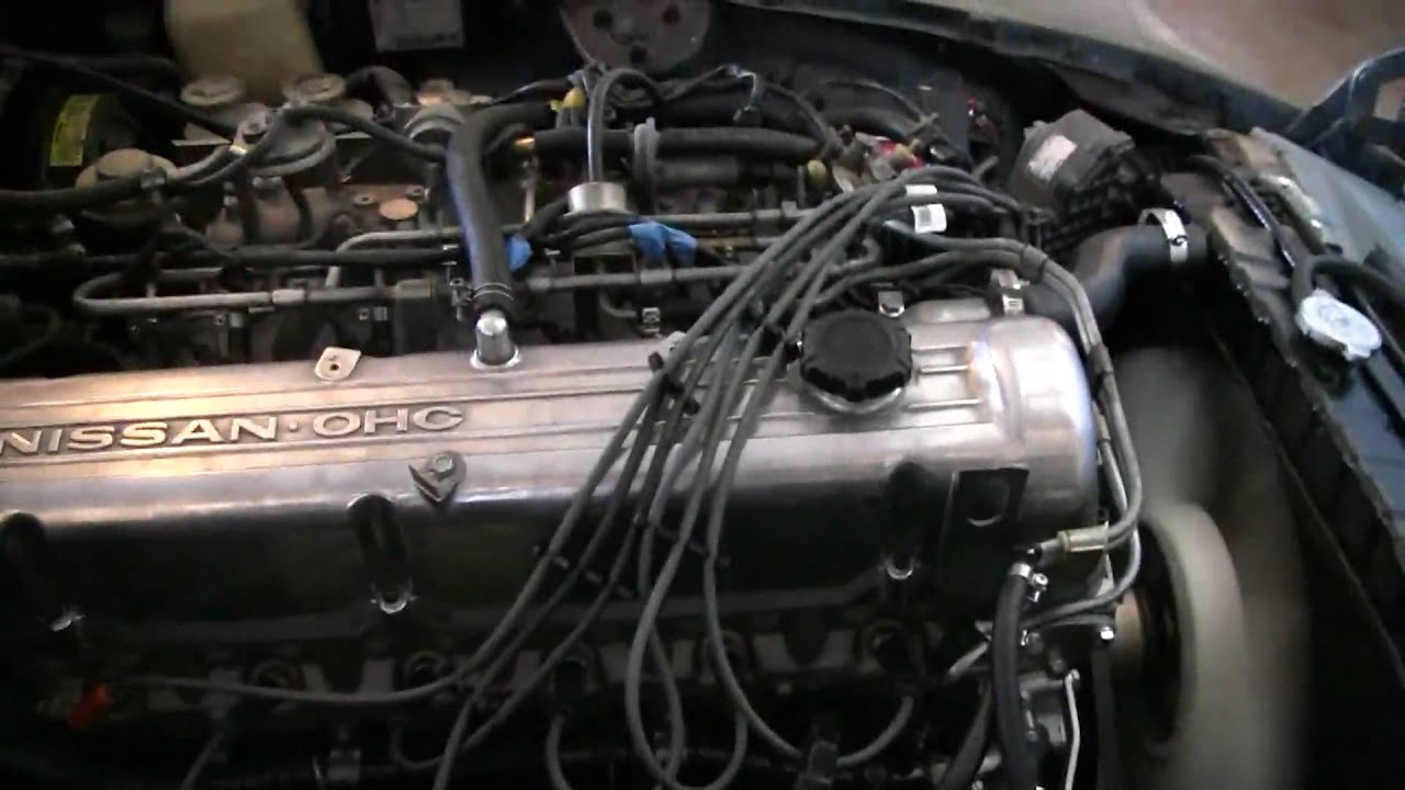Watch on 1976 datsun 280z engine