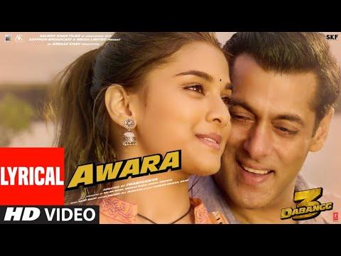 Download Lyrical: Awara   Dabangg 3   Salman Khan,Sonakshi S,Saiee M   Salman Ali, Muskaan   Sajid Wajid
