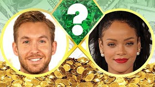 WHO'S RICHER? - Calvin Harris or Rihanna? - Net Worth Revealed! (2017)