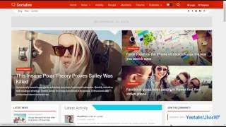 Socialize Wordpress Theme Review & Demo | Multi-Purpose BuddyPress Theme | Socialize Price & How to Install
