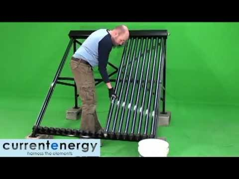 CURRENTENERGY.CA - Part 2 - HPC - Evacuated Tube Solar Thermal Collector System