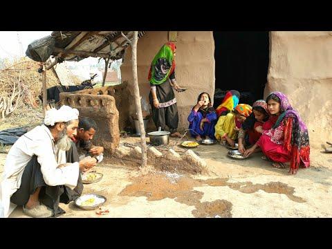 Indian Gujjar village Khan Family❤Village life of Punjab/India❤Rural life of PunjabIndia/BHARAT LIFE