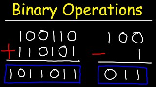 How To Add aฑd Subtract Binary Numbers