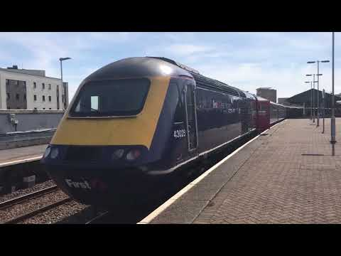 British Rail Class 43 HST 43025 at Swansea Platform 3