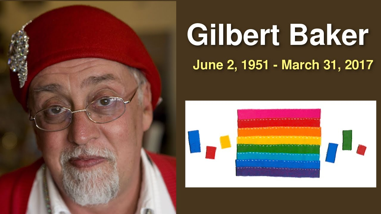 Gilbert Baker Google Doodle  Know about Rainbow Flag Creator | QPT
