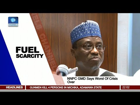 NNPC GMD Says Worst Of Fuel Crisis Over Pt.1 |News@10| 29/12/17