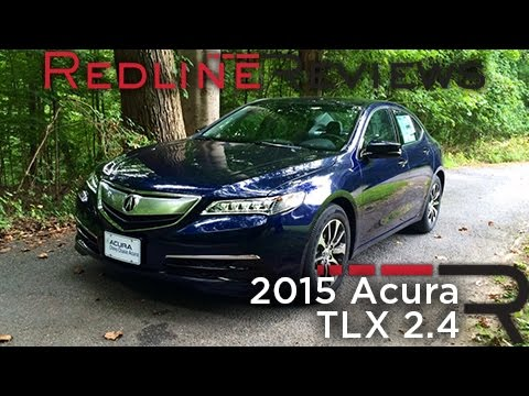 Redline Review: 2015 Acura TLX 2.4
