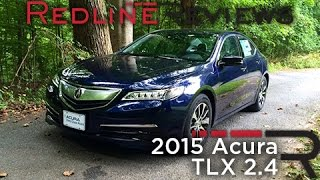 2015 Acura TLX 2.4 – Redline: Review