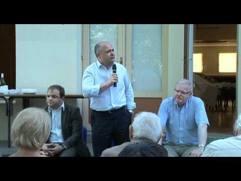 Bruno Le Roux (PS) en campagne, par Serge Moati
