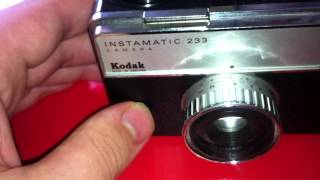 Kodak Instamatic 233 Camera