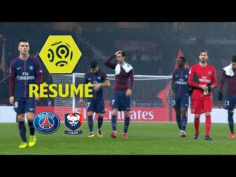 Paris Saint-Germain - SM Caen (3-1)  - Résumé - (PARIS - SMC) / 2017-18