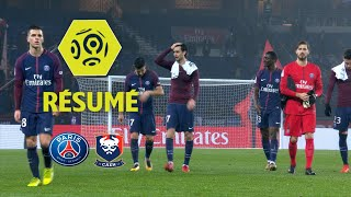 Paris Saint-Germain - SM Caen (3-1)  - Résumé - (PARIS - SMC) / 2017-18