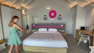 Guided Ocean view villa tour The Standard Maldives review hotel обзор отеля на Мальдивах
