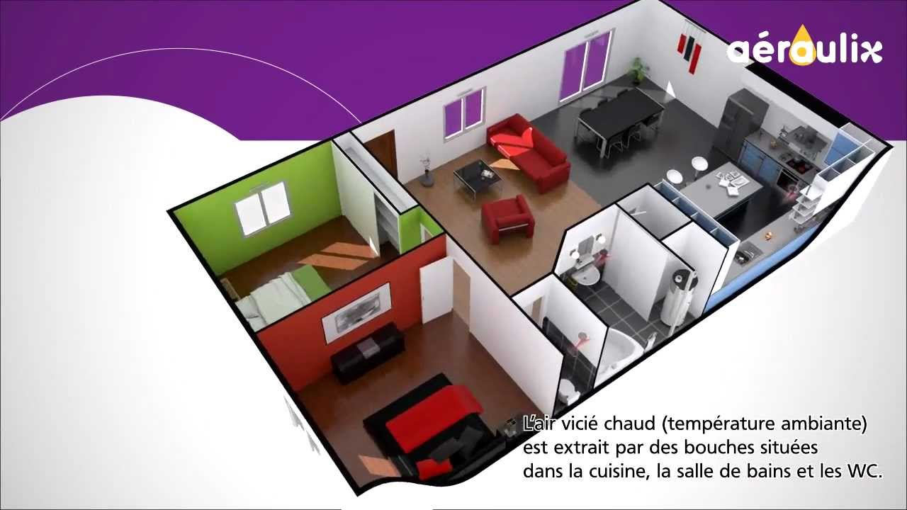 aeraulix chauffe eau thermodynamique sur air extrait youtube. Black Bedroom Furniture Sets. Home Design Ideas