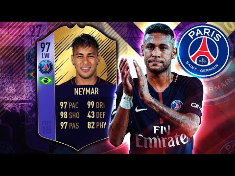 POTY NEYMAR 97! THE COMPLETE WINGER! FIFA 18 ULTIMATE TEAM