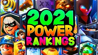 POWER RANKING: Top 5 Cards in Every Rarity!