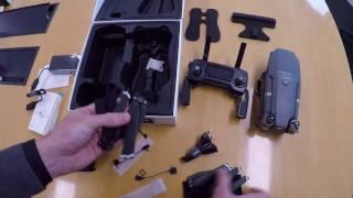 unboxing - déballage du drone DJi Mavic pro