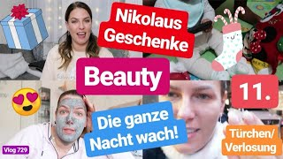Schlimmste Nacht seid Lias auf der Welt ist! l Beauty l Shoppen l 11. Türchen/ Verlosung l Vlog 729