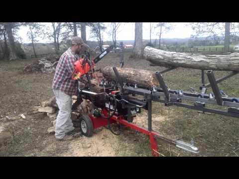 Diy firewood processor