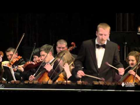 Sejourne Marimba Concerto Mvt. II [Performed by Chris Field]