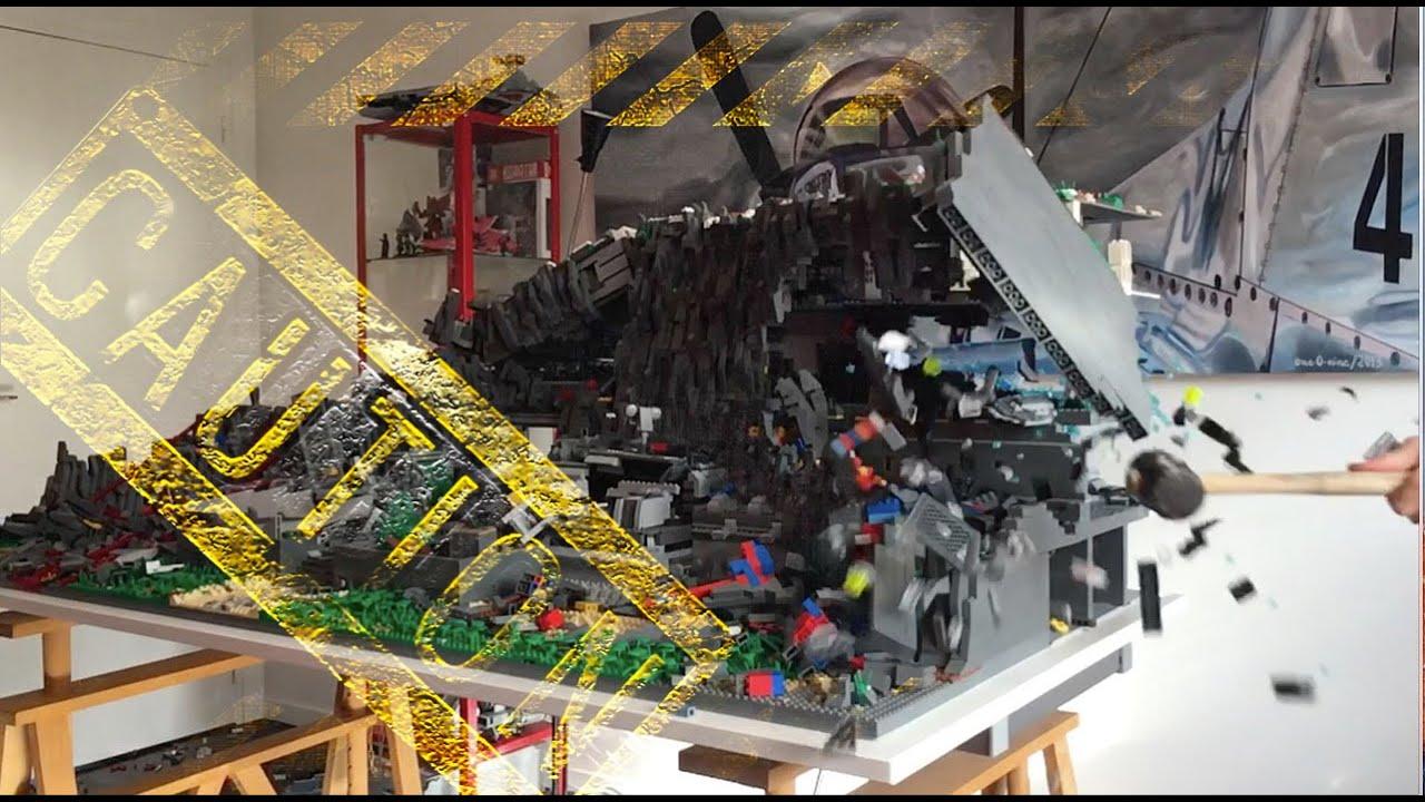 Building Destruction Lego