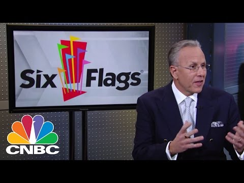 Six Flags Entertainment CEO Jim Reid-Anderson | Mad Money | CNBC