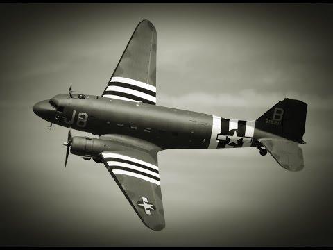 Legendarne Samoloty C-47 Dakota