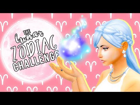 🌙WORSE THAN A TINDER DATE!? // The Lunar Zodiac Challenge // The Sims 4 // #1🌙