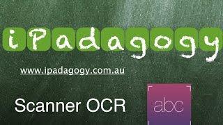iPadagogy - App Review - Scanner OCR