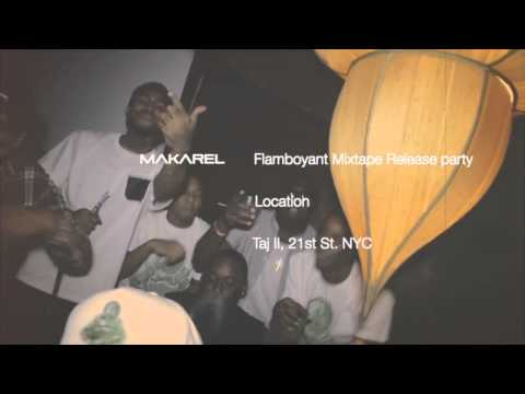 """Makarel """"Flamboyant"""" Mixtape Release Party At TAJ Lounge"""