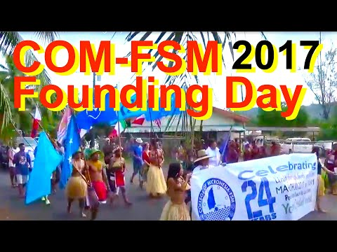 College of Micronesia-FSM Founding Day 2017