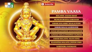 Pamba Vaasa - Ayyappa Tamil Devotional Songs - Bakthi Jukebox