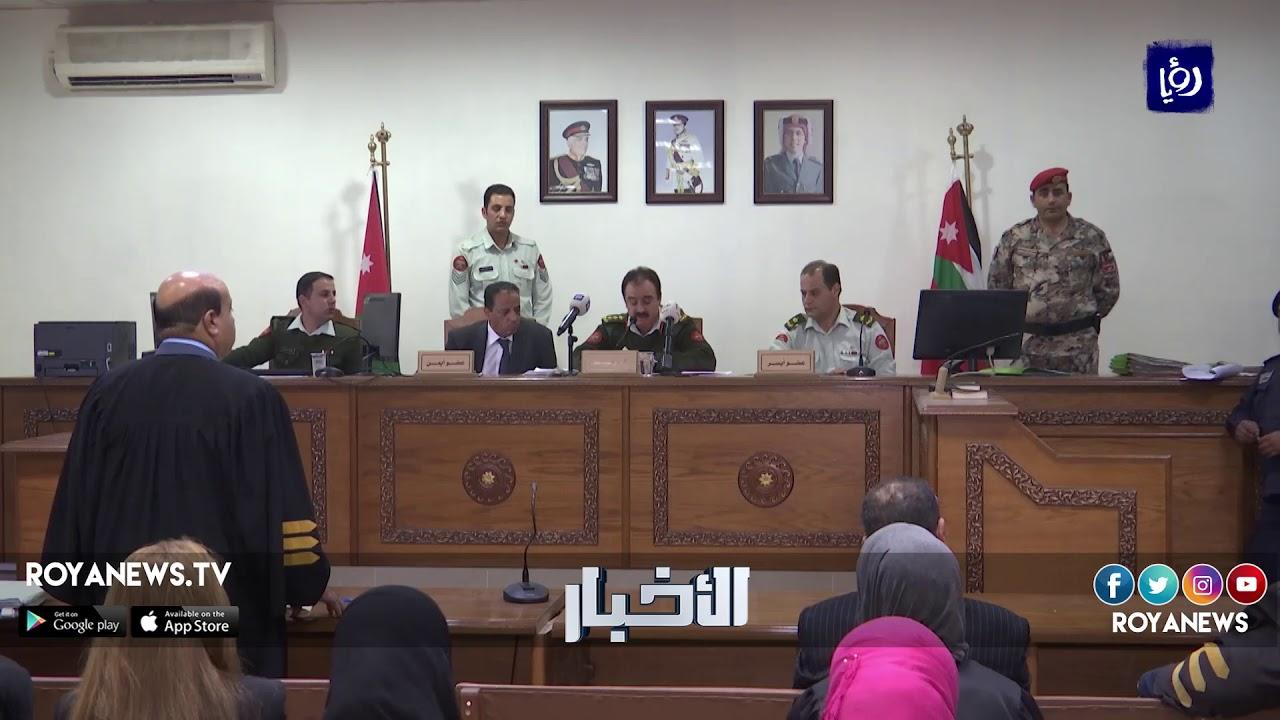 بدء محاكمة المتهمين بالسطو على بريد الظليل والبنك العربي - (28-3-2018)