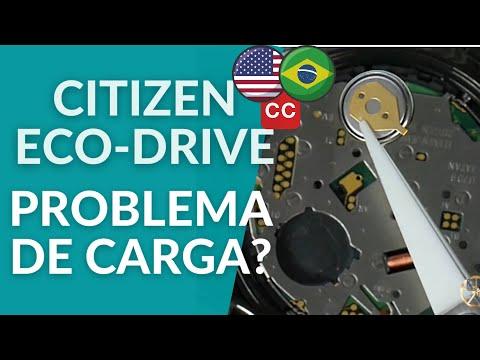 Citizen Eco-Drive, Problema De Carga, Bateria Fraca, Identificar E Resolver-Ezequias Relojoeiro